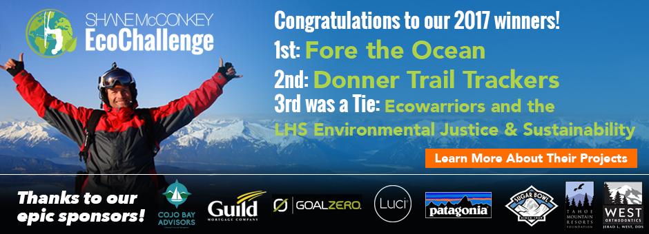 2017 Shane McConkey EcoChallenge Winners!