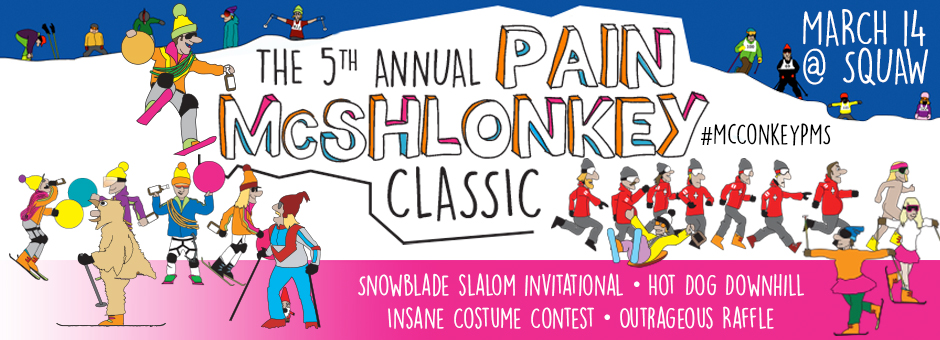 The 5th Annual Pain McShlonkey